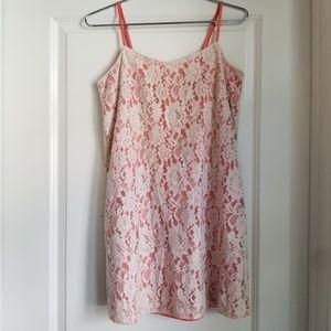 Frenchi Fairytale Lace Slip Dress